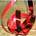 Cinta metalizada brillante roja 19mm x 100mtr